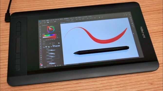 XP-PEN Artist 12 mesa digitalizadora com display para iniciantes