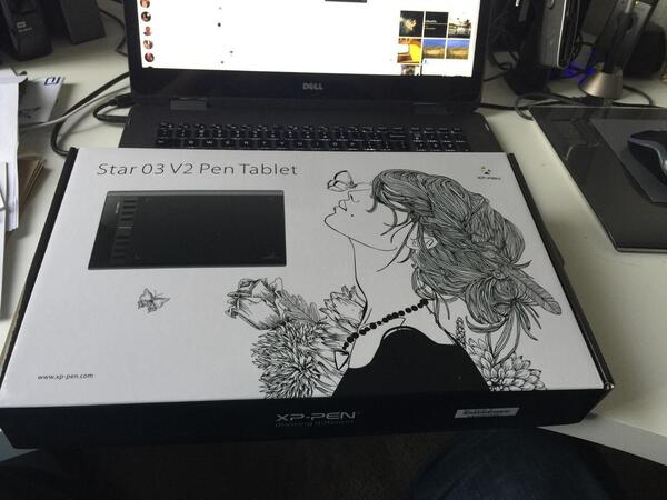 XP-PEN Star 03 V2 mesa digitalizadora https://www.xp-pen.pt/product/709.html