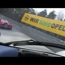 Pagani Zonda F Clubsport vs Koenigsegg Agera-R on the Nürburgring Nordschleife